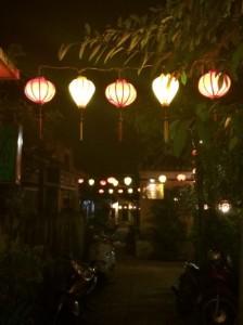 Side street in Hoi An