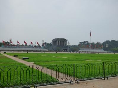 Ho Chi Minh Mausoleum and parade ground