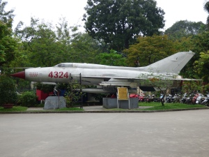 Mig Fighter at the Military Museum