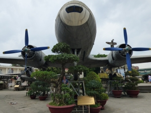 Transport aircraft used as Ho Chi Minh's plane for state business
