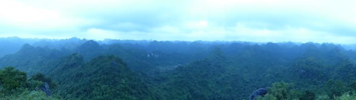 Panorama at the top