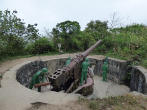 Canon Fort Cannon, alleys,, tunnel and Views
