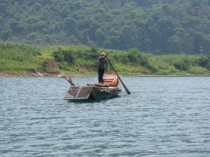 Ferryman en route