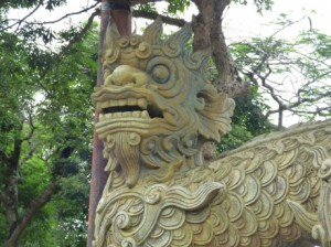 Dragon Statue, Imperial City