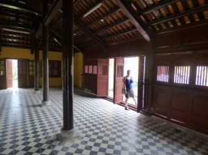 Room in the complex of the Cung Diên Thọ (Queen Mother)