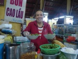 Cao Lau lady!