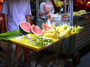 Fruit at the Night Market
