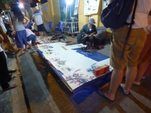 Night Market Artist
