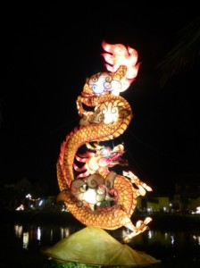Firey Dragon, one of the 4 sacred animals of Vietnam