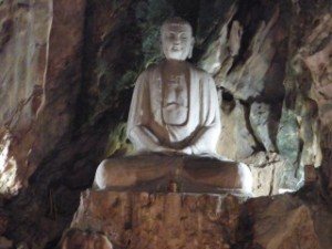 Large Cave Budda, Marble Mountain