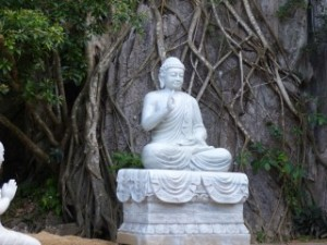 Seated Budda, Marble Mountain