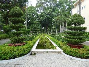 Park number 1: nice entrance