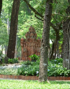 Little temple/palace in the park