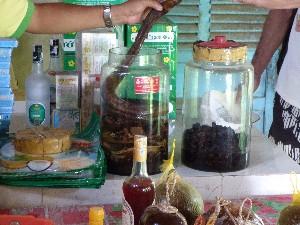 Snake in snake wine