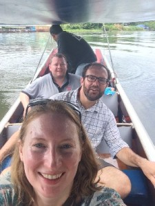 Boat Ride selfie on the River Kwai