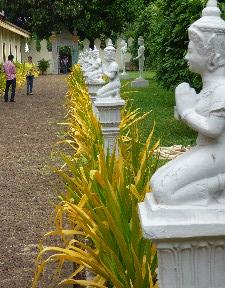 Walkway into the Royal Palace