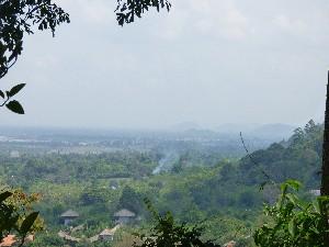 Views over Kep (Kampot direction)