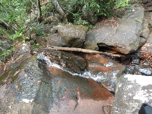 It is also one of the many waerfalls in the area.