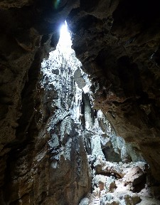 Then we did some caving.