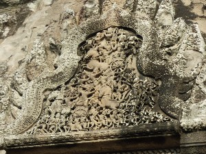 Complex carving in main temple