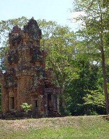 Random buildings in Angkor Thom