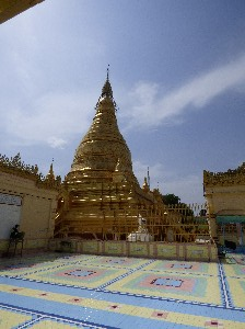 Pagoda at the top of Sagaing Hill