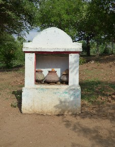 Water point- These were located all over Myanmar, they contain water donations so no one has to drink dirty water.