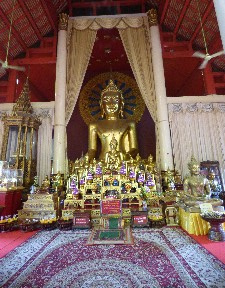 Buddha in Wat Phra Singh