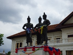 Three kings monument