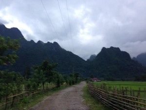 Views on way to the elephant cave