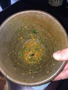 .. and Gav's tomato