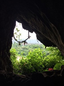 Views from the Chang Cave- about the most exciting thing about this cave