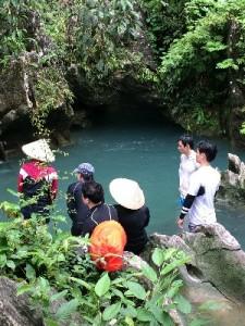 Rive cave entrance