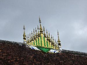 Wat Xieng Thong- Laos temple crest.