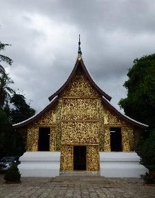 Wat Xieng Thong- the funeral chapel
