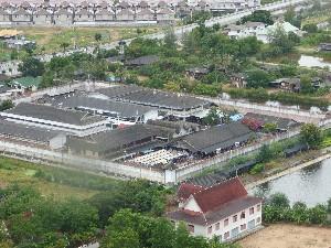 The prison...