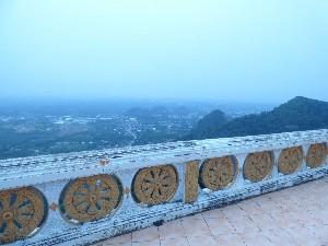 ..and hazy views
