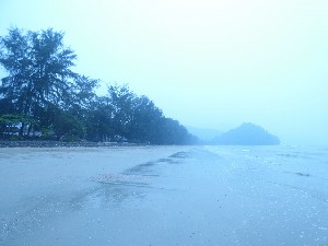 Then we got to Ao Nuang beach- as you can see the visibility is very poor.