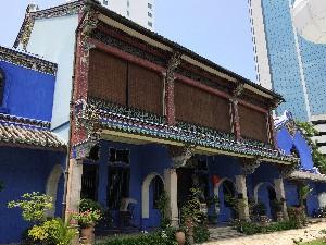 The blue mansion (Cheong Fatt Tze Mansion)