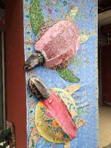 Batik and turtles were big in Terrangganu
