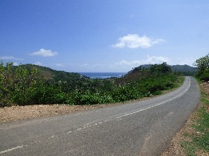Winding roads of south Lombok