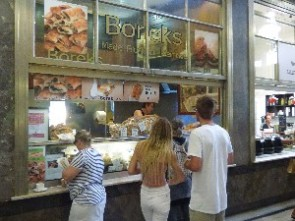 Victoria Market: Famous Boreks! The queue was actually massive.