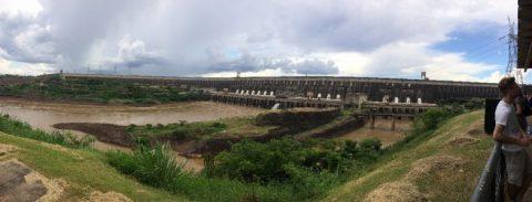 The main dam.