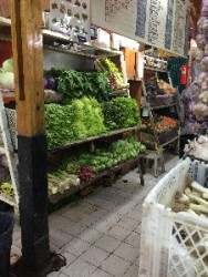 tons of veggies- standard market