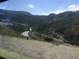The Ride to the Colombian border was across a ridge through the mountains. Lovely scenery.